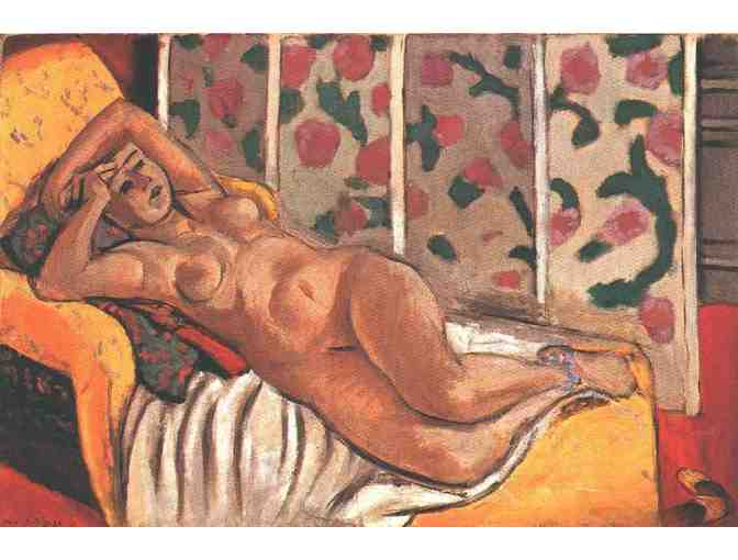 'Yellow Odalisque' by Henri Matisse
