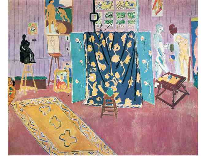 'The Pink Studio' by Henri Matisse