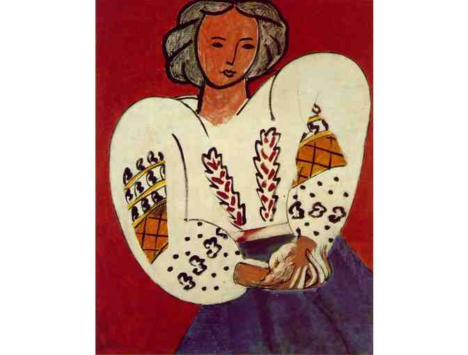 'The Romanian Blouse' by Henri Matisse