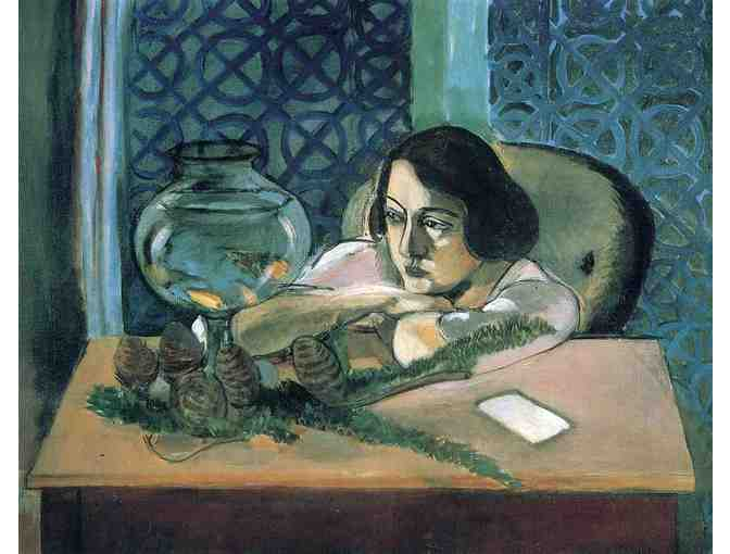 'Woman Before A Fish Bowl' by Matisse