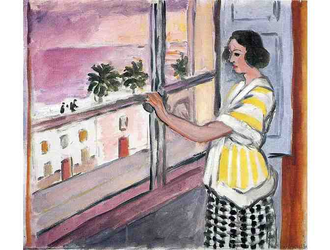 'Young Woman At the Window' by Matisse