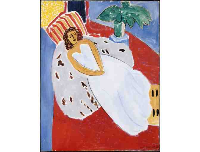 'Young Woman In White' by Matisse