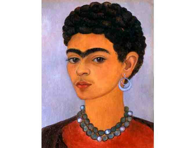 'SELF PORTRAIT WITH CURLY HAIR' BY FRIDA KAHLO