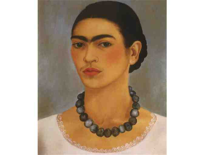 'SELF PORTRAIT WITH NECKLACE' BY FRIDA KAHLO