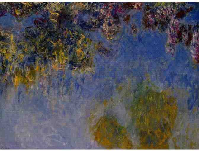 'WISTERIA, CENTER PANEL' BY MONET