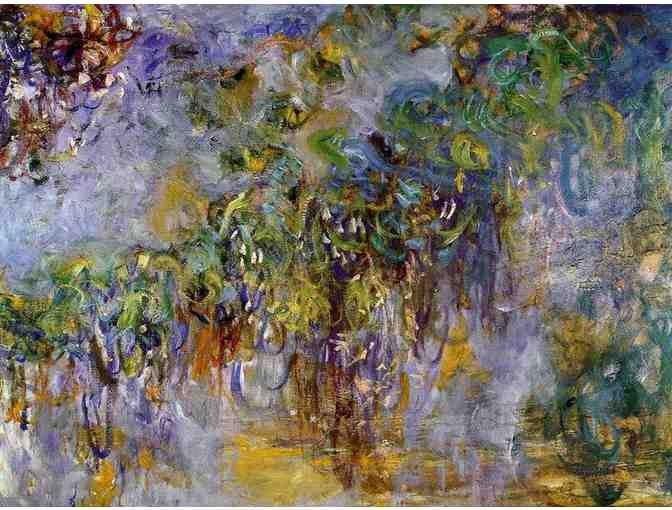 'WISTERIA, RIGHT HALF PANEL' BY MONET