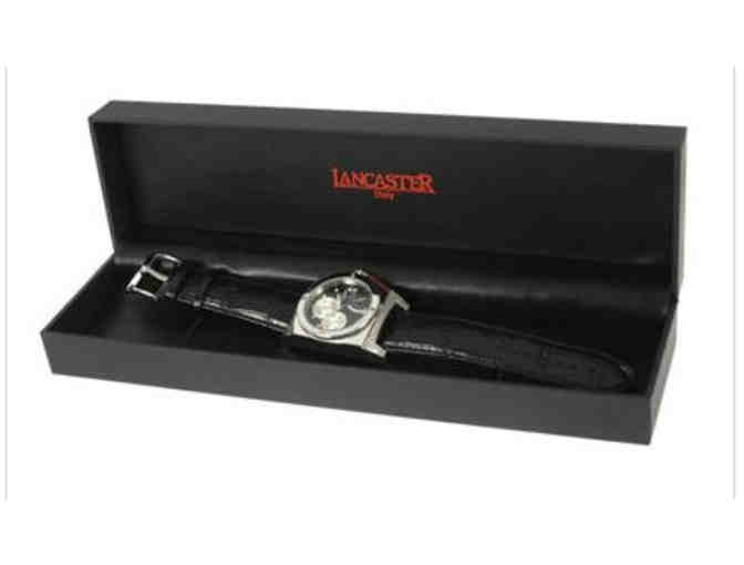 NEW!  LANCASTER DESIGNER WATCH, MADE IN ITALY!