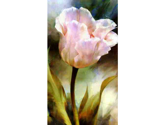 'A Single Rose' by WBK:  MUSEUM QUALITY LTD EDITION, SIGNED & NUMBERED BY THE ARTIST!