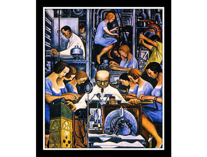 MECHANIZATION 1932 BY DIEGO RIVERA