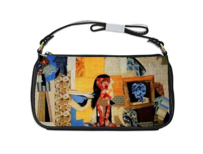 'THE WORKSHOP OF THE DRESSMAKER' by PICASSO: Leather/Art Should Clutch Bag!