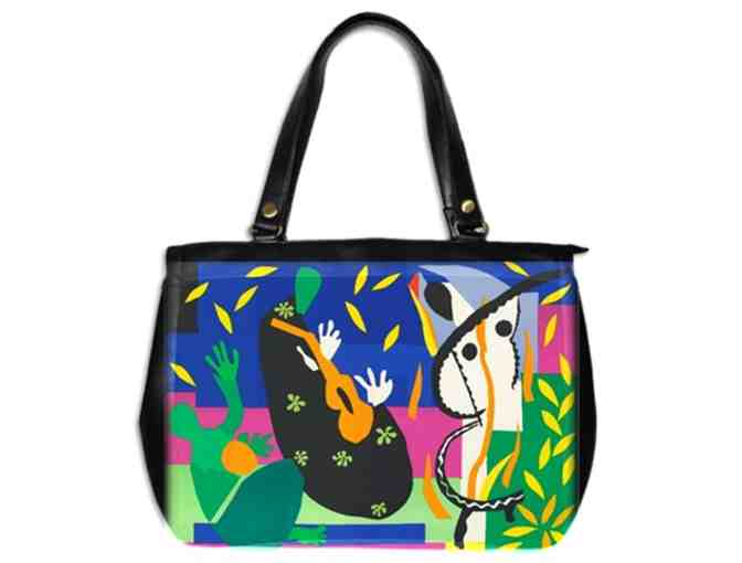'SORROW OF THE KING' BY HENRI MATISSE:  LUXURY LEATHER OFFICE TOTE BAG!