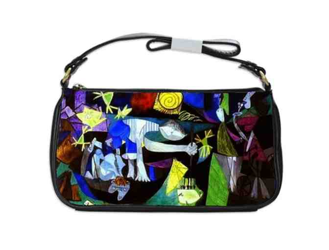 'NIGHT FISHING AT ANTIBES' by PICASSO:  Leather/Art Shoulder Clutch Bag!