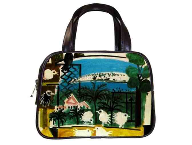 'LES MENINES' by PICASSO:  Classic Leather & Art Handbag!