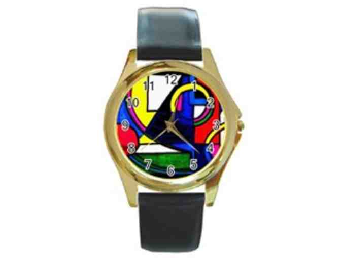 *'POOL PARTY':  LIMITED EDITION UNISEX ART WATCH!