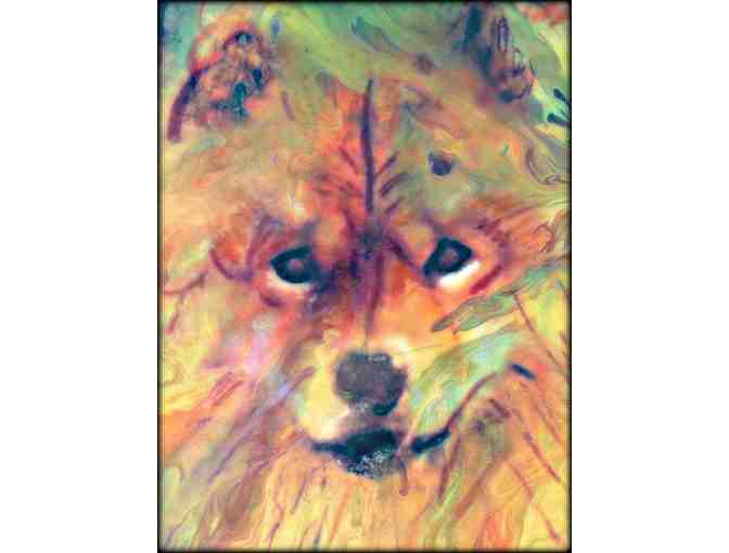 'Year of the Dog' by WBK: *** 12x9' Canvas!
