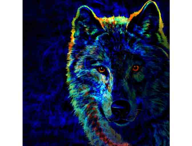 'LONE WOLF':  Limited Edition A3 Giclee Print, personally signed by the artist!