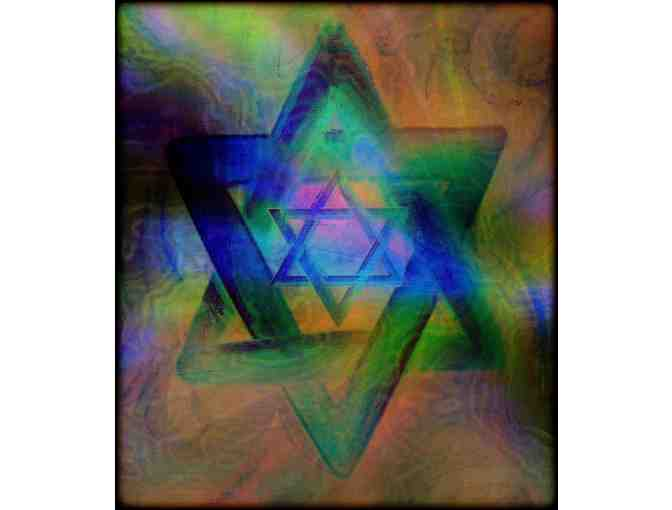 'STARS OF DAVID':  Limited Edition A3 Giclee Print, personally signed by the artist!