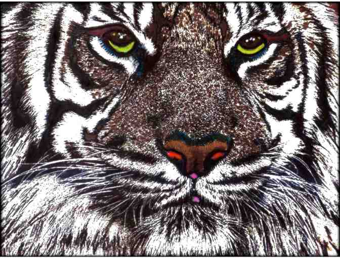 * WHITE BENGAL by WBK:  60x80' Limited Edition Canvas!