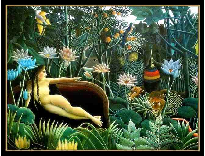 THE DREAM BY HENRI ROUSSEAU:  A3 GICLEE PRINT!