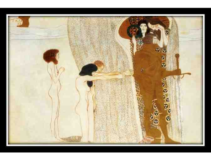 KLIMT:  A3 GICLEE:  'BEETHOVEN FRIEZE'