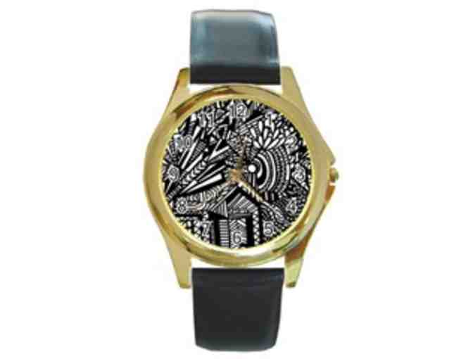 *'TILTING AT WINDMILLS':  UNISEX ART WATCH!