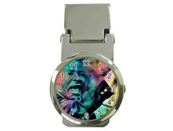 *'I HAVE A DREAM':  MONEY CLIP ART WATCH!