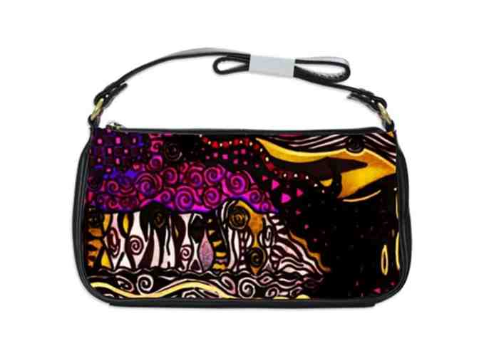 'THE GLISTENING':  Custom Made ART Shoulder Clutch!