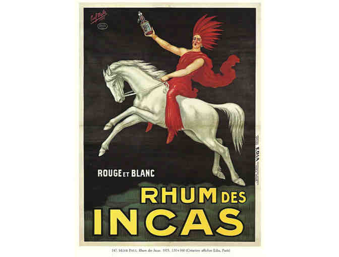 'Rouge et Blanc Rum'/Vintage: A3 Giclee Print