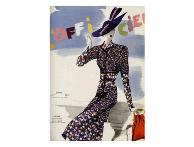 'L'Officiel Cover Art' 1938 (1):  Limited Edition A3 Giclee Print