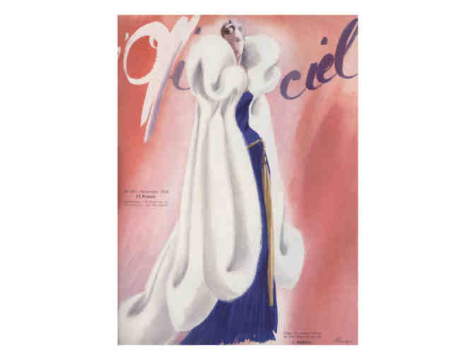 'L'Officiel' Cover Art, 1938 (2):  Limited Edition A3 Giclee Print