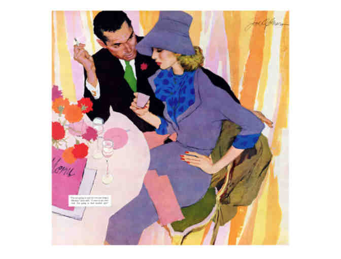 'Marriage Is Not For Me', Saturday Evening Post Cover Art, Limited Edition A3 Giclee Print