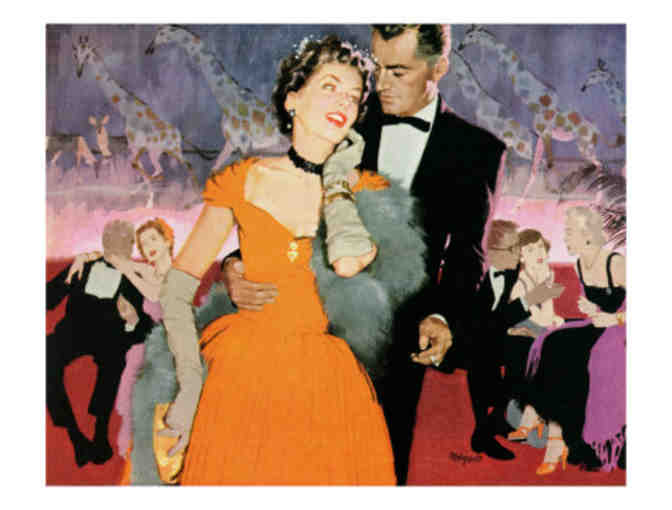 'Second Elopement' Saturday Evening Post Cover Art:  Ltd.Ed. A3 Giclee Print