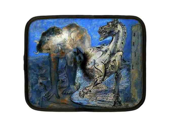 """FAUN, HORSE and BIRD"" by Picasso! Custom Made Netbook Case: Versatile and Unique! - Photo 1"