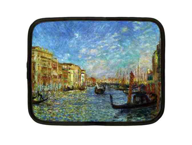 """GRAND CANAL VENICE"" by Renoir: Custom Made Net Book Case: Versatile and Unique! - Photo 1"