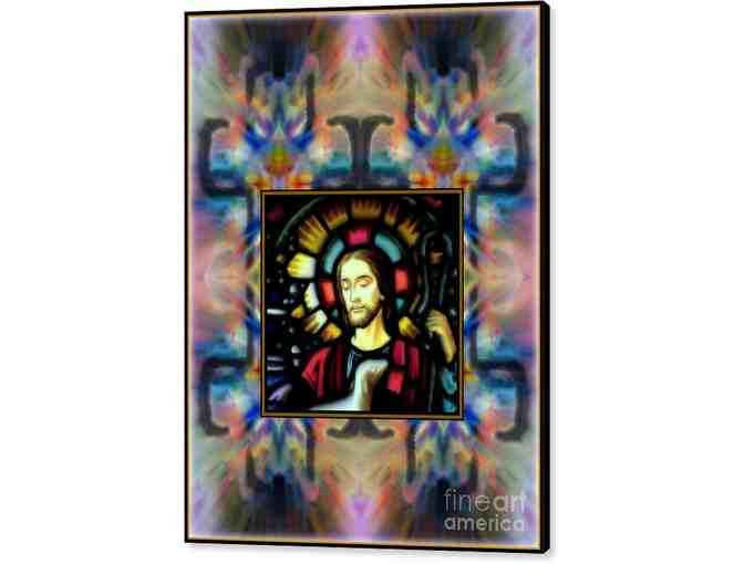 0-376: 'Good Shepherd' by WBK: LARGE CANVAS: 22.875'x30.00' or small print!