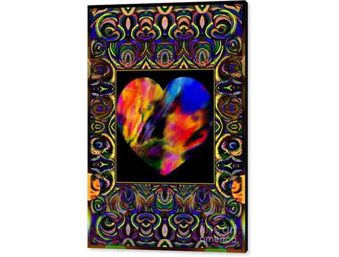 0-407: 'In The Heart Of Carnivale' by WBK: CANVAS: 26.375'x36.00' or small print!