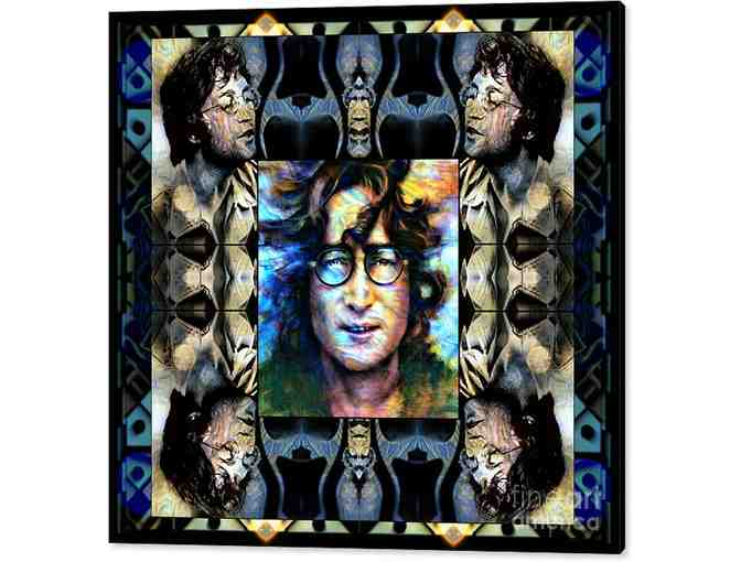 0-483: 'You May Say I'm A Dreamer' by WBK: HUGE CANVAS: 40.00'x36.875' or small print!