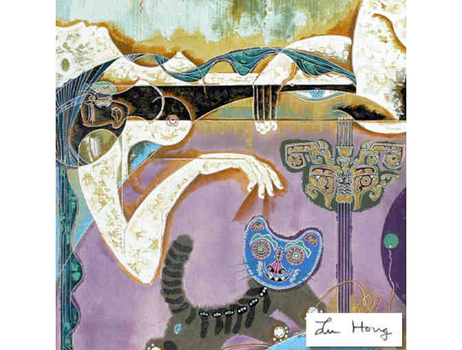 0-INV:  `1 ONLY!!: 'Magic' by Lu Hong' EXTREMELY COLLECTIBLE!!!