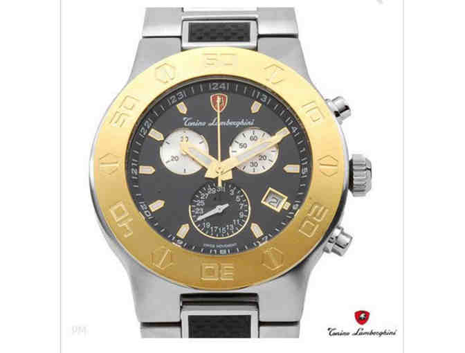 TONINO LAMBORGHINI Brand New Chronograph Date Watch