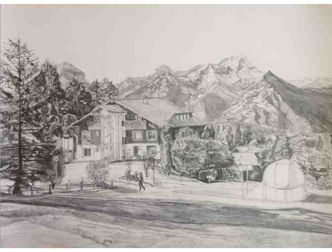 Drawing of Aiglon College