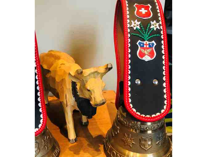 Swiss Cow Bell - Aiglon customized edition