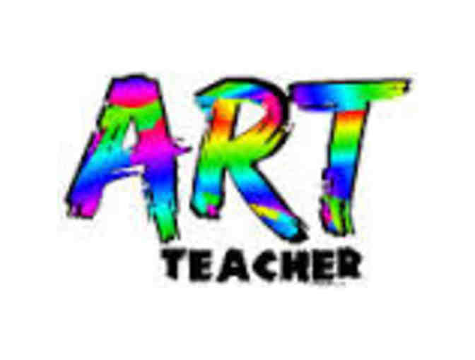 Art Teacher for a Day with Mrs. Dupree