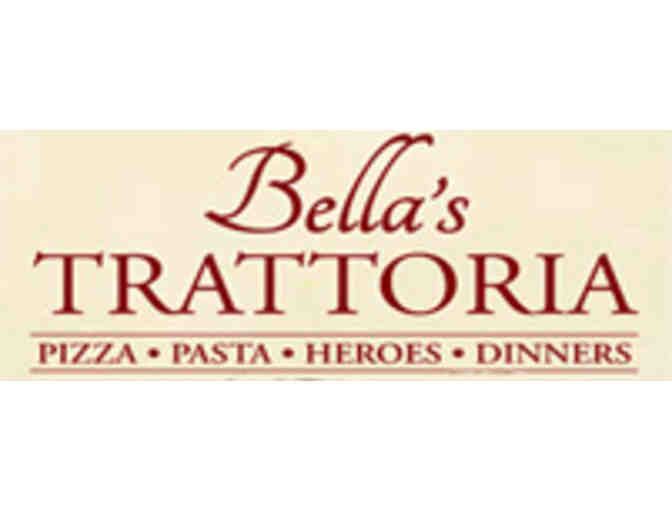 Make your own Pizza party at Bella's Trattoria!