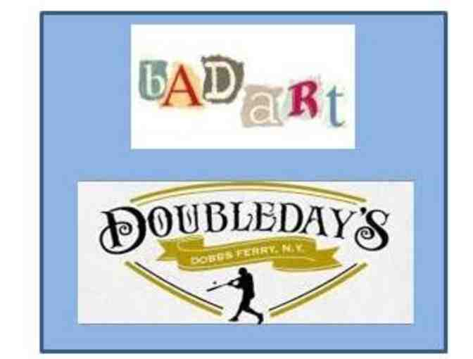 Bad Art Party @ Doubleday's! Cover Rock at its Best!
