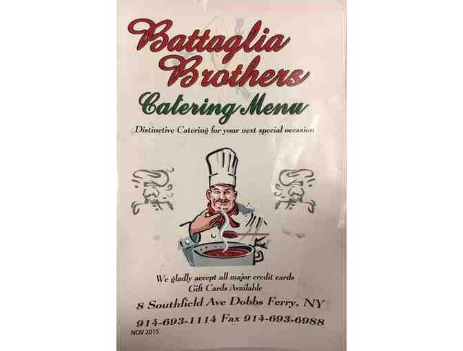 $ 25.00 Gift Certificate to Battaglia Brothers - Photo 1