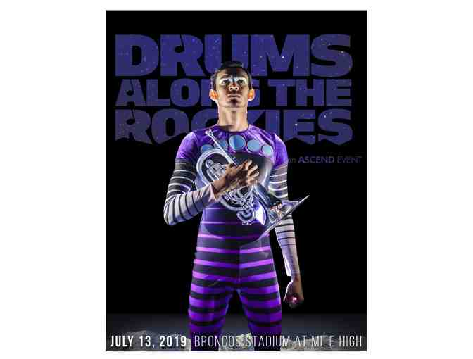2019 Drums Along the Rockies: 2 Big Brass Tickets