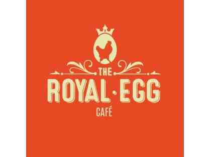 The Royal Egg Cafe Gift Certificate