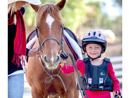 Elvenstar Riding Lesson (Ages 7+)