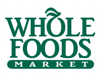 $100 Whole Foods Market Gift Certificate