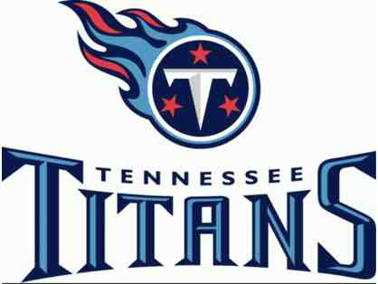 Two Club Level - Titans Tickets (25 Yard Line) with Tahoe!